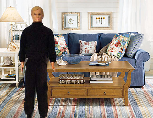 The IK Doll's living room